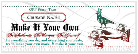 make-it-your-own-crusade-no-31