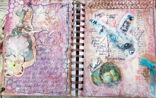 Esther's journal pages