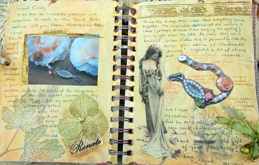 Renate's journal pages