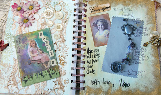 Vero's journal pages