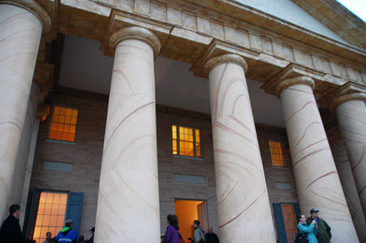 The Arlington House, with 8 columns on the portico