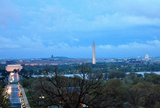 View of DC from The Arlington House