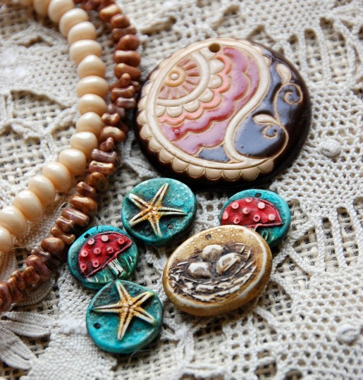 New charms and pendants by both Humblebeads and Golem
