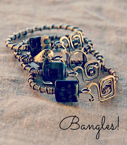Bangles by Cindy Wimmer {sweetbeadstudio}