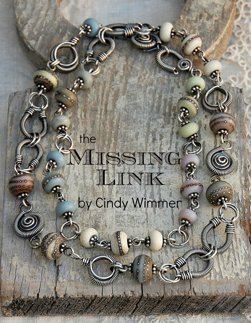 The Missing Link by Cindy Wimmer a wire jewelry design book www
