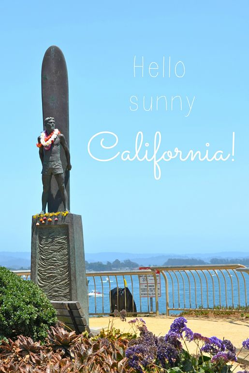 Hello, California!