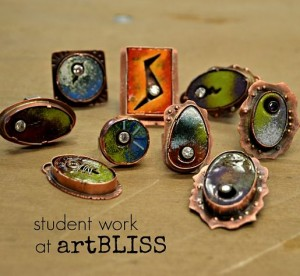 student work at artBLISS
