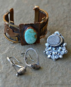 Jewelry made by artBLISS instructors