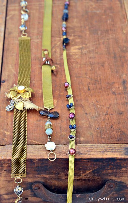 Vintage Mesh Bracelets by Cindy Wimmer