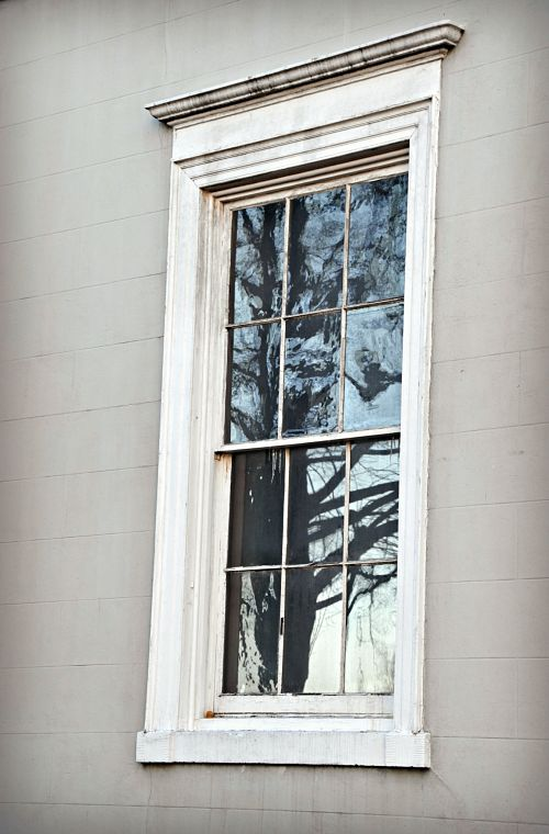 Window of The White House of the Confederacy