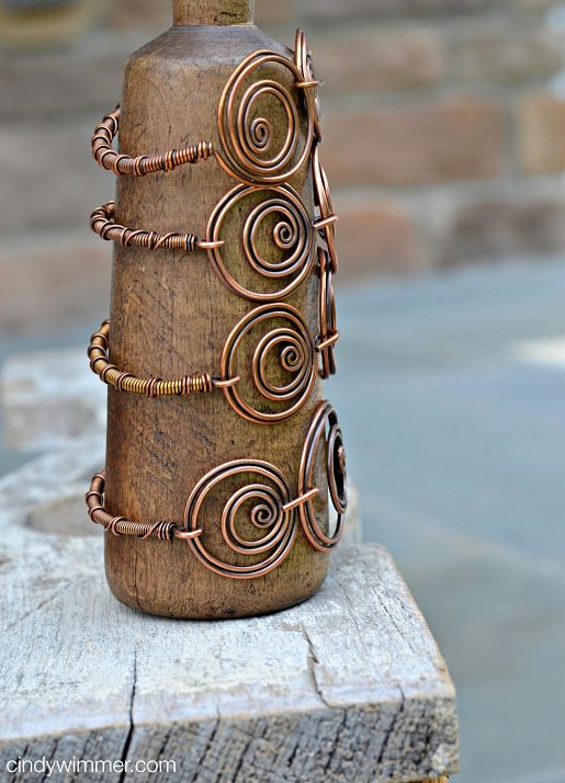 Twin Twirl stack of bangles by Cindy Wimmer