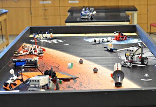 Lego robotics, programming