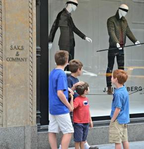 Window display, NYC