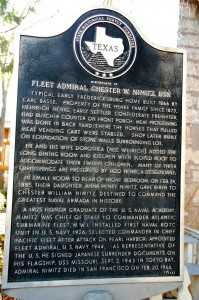 Admiral Nimitz home in Fredericksburg, TX