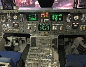 NASA space shuttle control