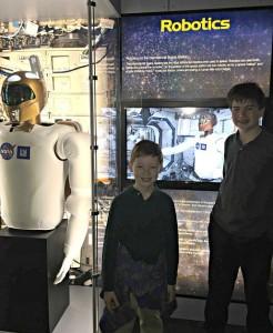 NASA robotics on the Intl. space station