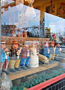 Store window in Austin, TX